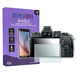 Olympus E-M1 Screen Protector - Mikvon AntiSun (Retail Package with accessories)