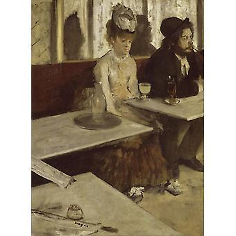 Absinthe, Edgar Degas, 50x40cm