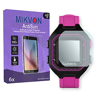 Garmin Forerunner 25 S Screen Protector - Mikvon AntiSun (Retail Package with accessories) (reduced foil)