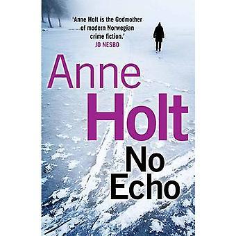 No Echo (Main) by Anne Holt - Anne Bruce - 9780857892300 Book