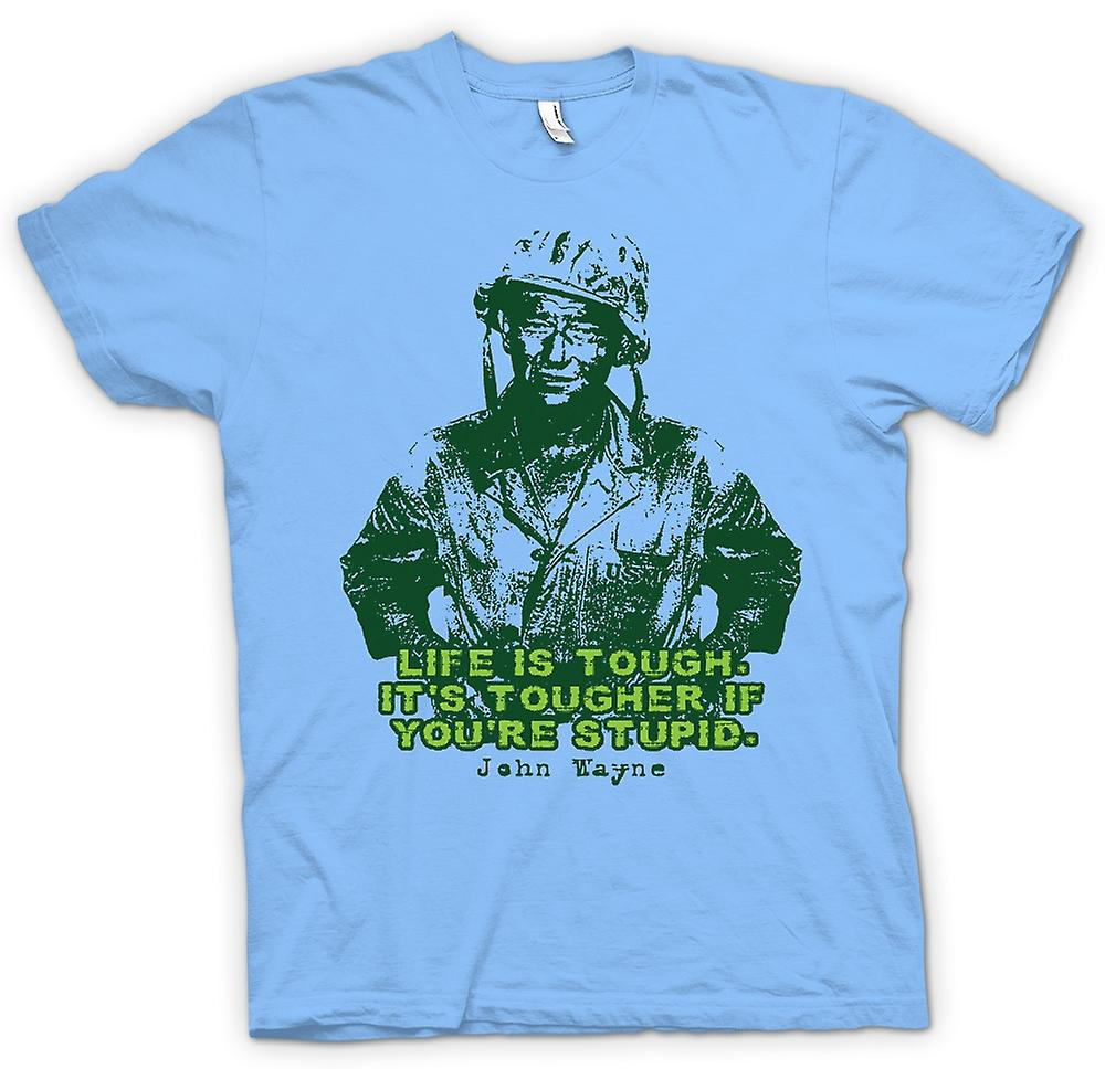 Mens t-shirt - John Wayne - Green Beret - WW2