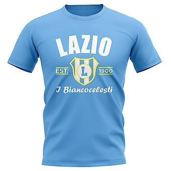 Lazio établi Football T-Shirt (ciel)