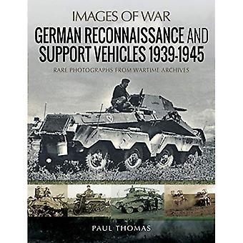 German Reconnaissance and Support Vehicles 1939-1945