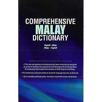 Dictionnaire malais complet: Anglais-malais-malais-anglais