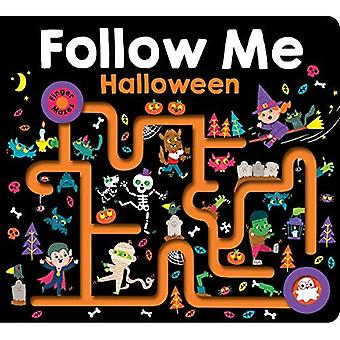 Maze Book: Follow Me Halloween