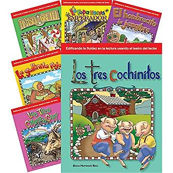 Children's Folk Tales and Fairy Tales 6-Book Spanish Set (Reader's Theater) (Teacher Created Materials Library)