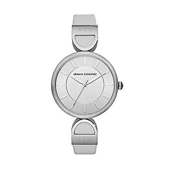 Armani Exchange Ladies Quartz analogue watch with leather strap AX5325