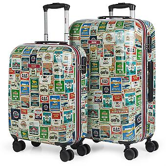 Game 2 travel luggage 50 Cm and 60 Cm polycarbonate Skpat Kiev 130500