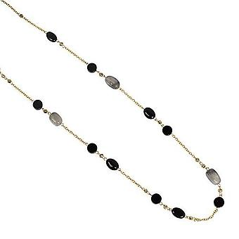 PEARLS FOR GIRLS jewelry fashionable ladies black agate gold chain