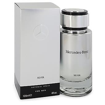 Mercedes Benz Silver by Mercedes Benz Eau De Toilette Spray 4 oz / 120 ml (Men)