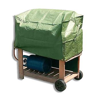 Simply Direct Trolley BBQ Cover - Rectangular - Outdoor Weatherproof Furniture Protector