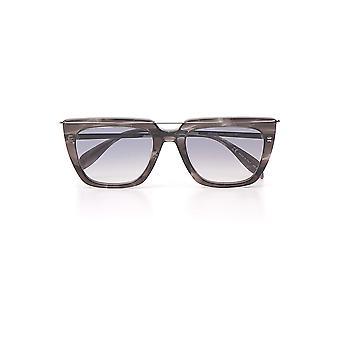Alexander Mcqueen Grey Acetate Sunglasses