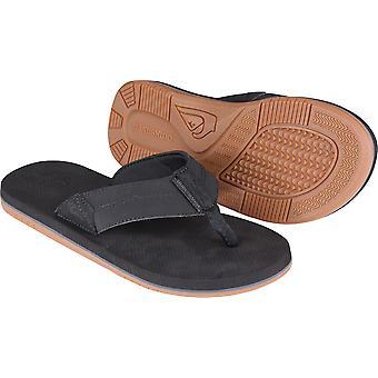 Quiksilver Mens kyst Oasis II stranden Casual sandaler - svart