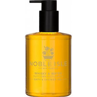 Noble Isle Whiskey & Water Bath & Shower Gel