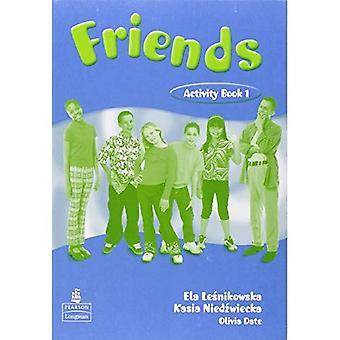 Vänner 1: (Global) aktivitetsbok: globala arbetsbok 2