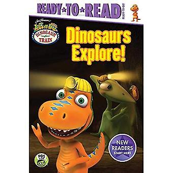 Dinossauros explorar! (Trem do dinossauro)