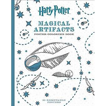 Harry Potter Magical Artifacts Poster Coloring Book by Scholastic - 9