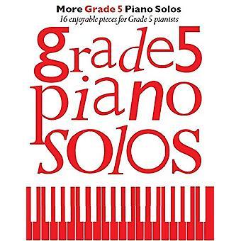 More Grade 5 Piano Solos - 9781785583667 Book