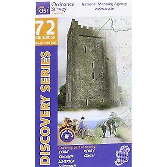 Kerry - Cork - Limerick (4th Revised edition) by Ordnance Survey Irel