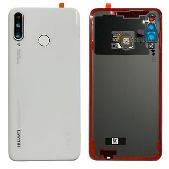 Huawei batteri locket batteri luckan vit för P30 lite 02352RQB reparation ny