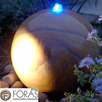 Foras Belmont 30 Natural Stone Pool Water Feature Luminar Kit