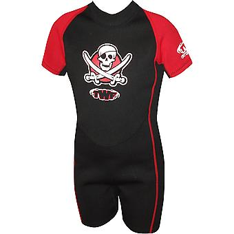 Twf Pirate Summer Shortie Swim Suit Swimwear For Girls