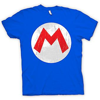 Kids t-shirt-Mario Logo - Gamer