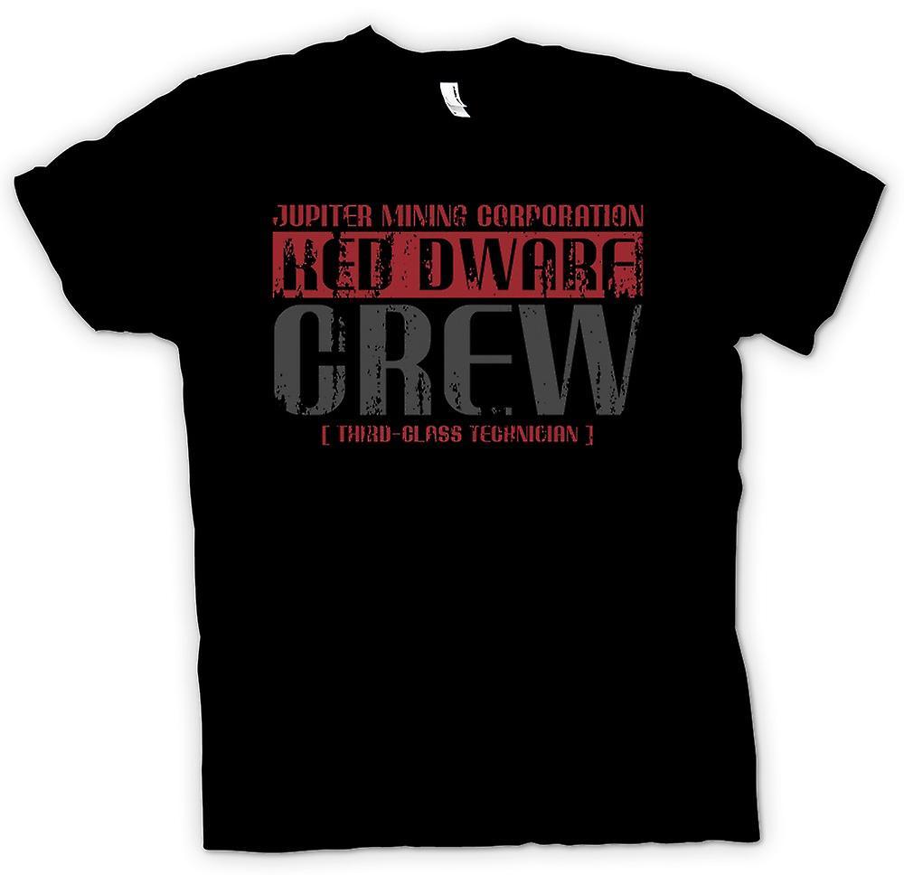 Womens T-shirt - Jupiter Mining Corp.  Dwarf Crew - 3rd Class Technician