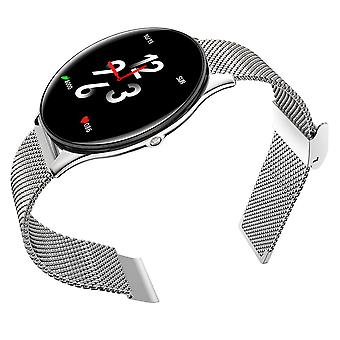 Bakeey sn58 10mm ultra-thin dial ip68 waterproof dynamic heart rate activity check weather music smart watch