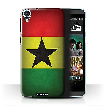 STUFF4 Case/Cover for HTC Desire 820q Dual/Ghana/Ghanaian/Flags