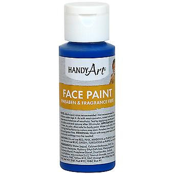 Handy Art Face Paint 2oz-Blue 558-30