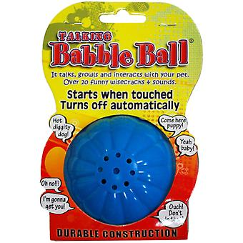 Large Talking Babble Ball-Blue TBB1