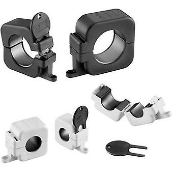Ferrite bead cube key protected 119 Ω Cable Ø (max.) 14.5 mm (Ø) 40 mm Würth Elektronik STAR-RING 7427151S 1 pc(s)
