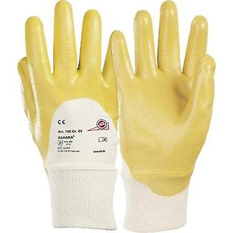 KCL 100 Glove Sahara 100% cotton jersey with special nitrile coating Size 9