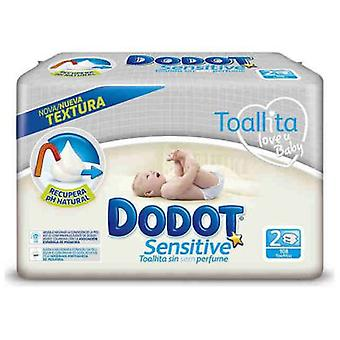 Dodot Sensitive Wipes 108 units Duopack (Kindesalter , Windel und Wechsler , Wipes)