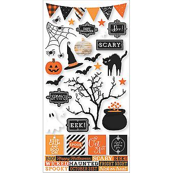 Simple Sets Happy Haunting Cardstock Stickers 6
