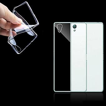 Sony Xperia Z3 transparent case cover silicone