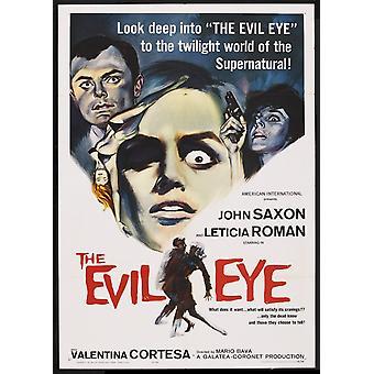 Onde øjne film plakat (11 x 17)