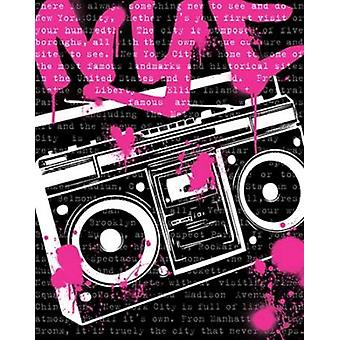 NYC Boom Box Poster Print by N Harbick
