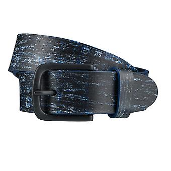 ALBERTO painter belts men's belts leather belt blue 3870