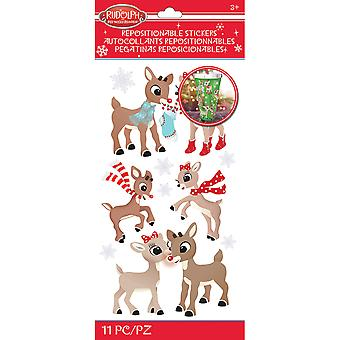 Rudolph The Red Nosed Reindeer Stickers-Rudolph & Clarice E5306013