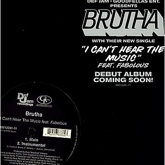 Brutha - I Can't Hear the Music [Vinyl] USA import