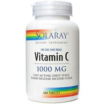 Solaray Vitamin C 1000 Mg. 100 Tablets (Vitamins & supplements , Vitamins)