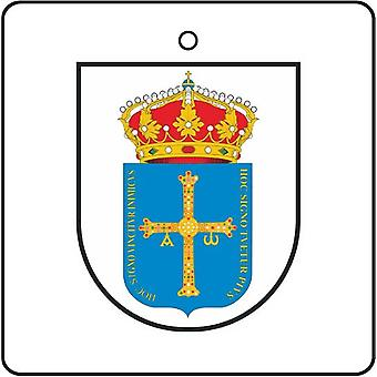 Asturias Spain Coat Of Arms Car Air Freshener