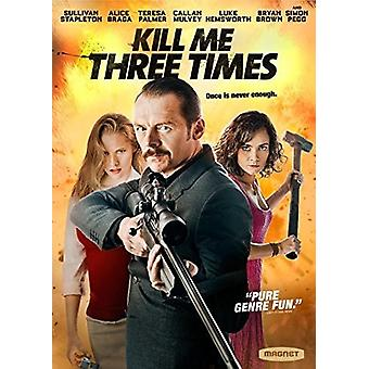 Kill Me Three Times [DVD] USA import