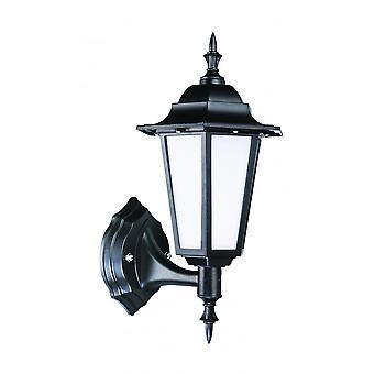 LED Robus Dingle 7W LED Black Coach Wall Lantern