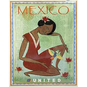 United Mexico Poster Print Giclee