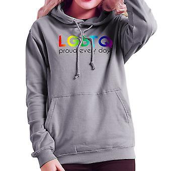 LGBTQ dumny, każdego dnia dumy Damska bluza z kapturem