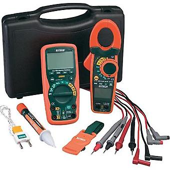 Handheld multimeter, Current clamp digital Extech EX730Kit Calibrated to: Manufacturer's standards (no certificate) CAT