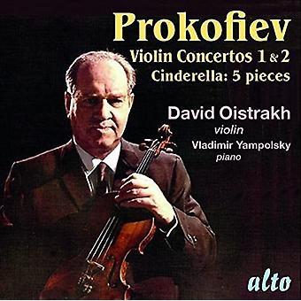 David Oistrakh (Violin) Vladimir Yampol - Prokofiev: Violin Concertos No 1 & 2; Ci [CD] USA import